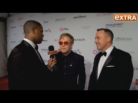 On the Red Carpet at Elton John AIDS Foundation Gala