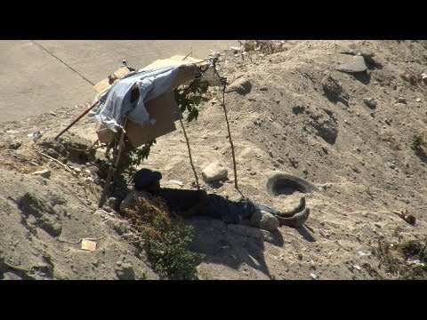 Migrants Evicted from Tijuana River Canal