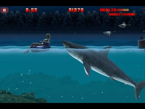 Hungry Shark Night - Compatible with iPhone, iPad, and iPod touch.