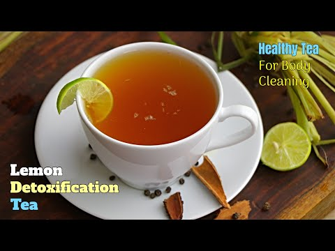 Lemon Detoxification Tea|శరీరం లోని మలినాలన్నీ పోగొట్టే గొప్ప టీ. వారం రోజుల్లో మార్పు గారంటీ
