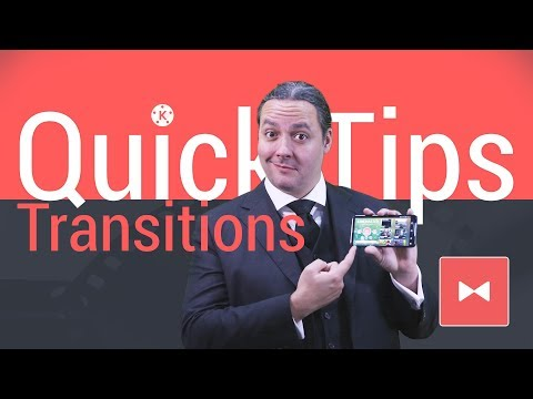 Transitions - KineMaster Quick Tips - YouTube