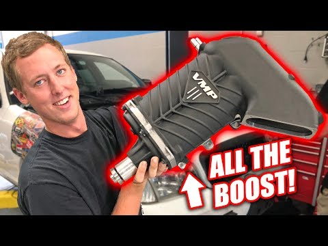 OH BABY! A HUGE New Supercharger For Our GT500 Swap! (IT'S BEAUTIFUL)