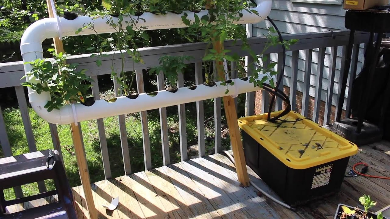 Hydroponic patio system design (and need help)