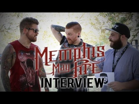 Memphis May Fire Interview Gets Awkward With Matty Mullins