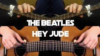 Kelly Valleau - Hey Jude (The Beatles) - Fingerstyle Guitar