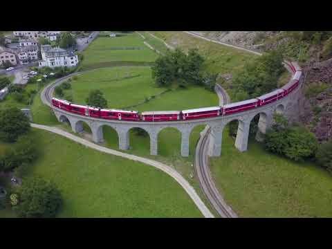 Tren panorámico Bernina Express