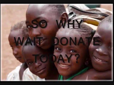 Starving children in the world...