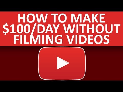 How To Make $100 Per Day On YouTube Without Filiming Videos In 2019 - 동영상