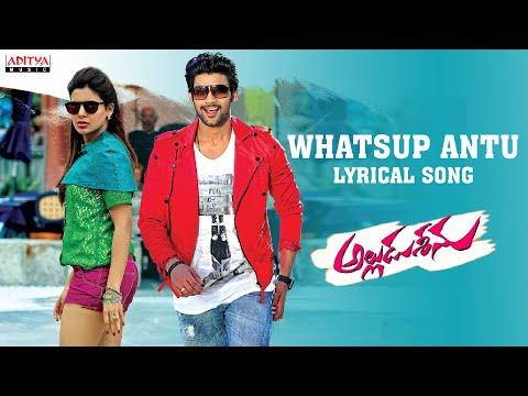 Alludu Seenu Songs - Whatsup Antu Full Song With Lyrics - Samantha, Srinivas Bellamkonda, DSP