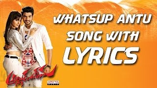 Alludu Seenu Songs - Whatsup Antu Full Song With Lyrics - Samantha, Srinivas Bellamkonda, DSP