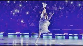 Юлия Липницкая в роли Золушки Ледовое шоу Золушка Плющенко