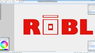 Fixing the ROBLOX logo in 3 minutes.