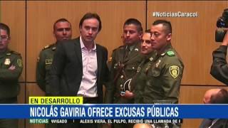 """""""Que de mi error aprendan otros"""": Nicolás Gaviria se disculpó públicamente"""