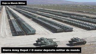 Sierra Army Depot, o maior depósito militar do mundo thumbnail