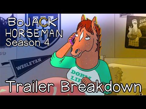 Bojack Horseman   Season 4   Trailer Breakdown