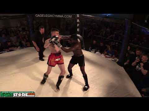 Jose Pecsos vs David Malone - Cage Legacy Kickboxing 3