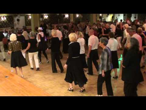 THE CONTINENTAL Line Dance @ 2012 Black & White Ball @ the COPA.m2ts