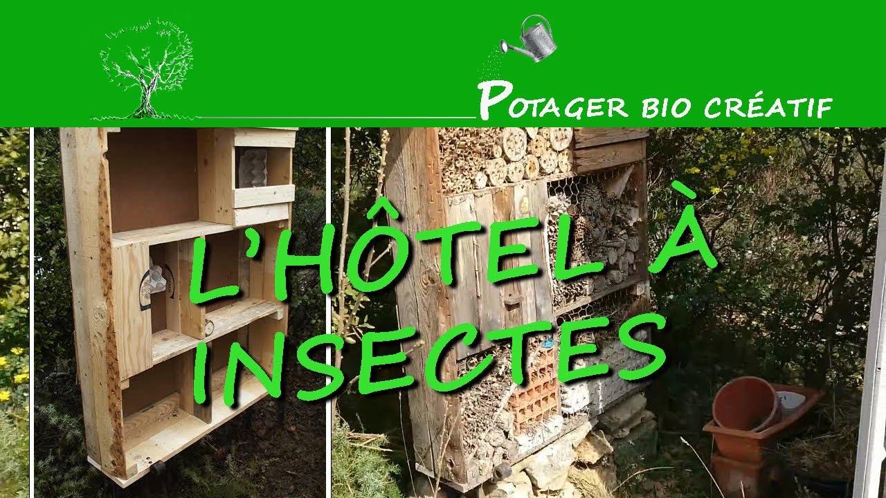 Hotel A Insecte Fabrication l' hôtel à insectes