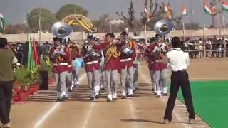 Bps,pilani band 26jan 2013 march past