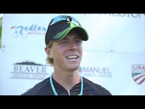 Stage 2: Men's Winner Interview.