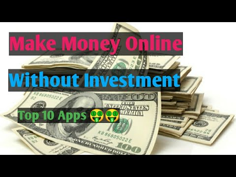 Top 10 online earning apps  How to make money online without investment  Top 10 reselling apps  Earn