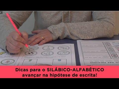 Dicas Para O Silabico Alfabetico Avancar Na Hipotese De Escrita