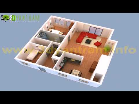 House Plan Design 3d With 2nd Floor