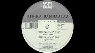 Afrika Bambaataa Pupunanny Fargetta Remix