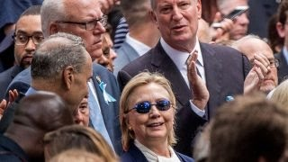 Report: Clinton has 'medical episode' at 9/11 ceremony