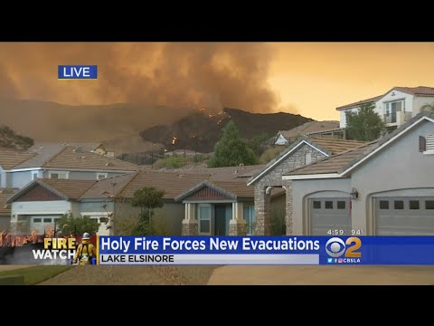 Holy Fire Grows As More Homes Are Threatened