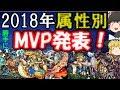 ゆっくりモンスト実況 ゆっくりモンスト実況 2018年個人的属性別MVP、敢闘賞キャラ発表!