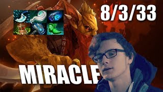 Miracle Bounty Hunter 33 Assists with Meteor Hammer Dota 2