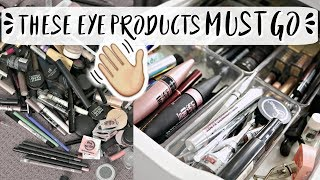 ADDICTED TO BROW PRODUCTS? // Brows, Mascara, Liner & Eyeshadow Declutter | Rachael Jade