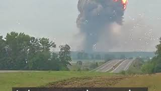 Explosion in ukrain