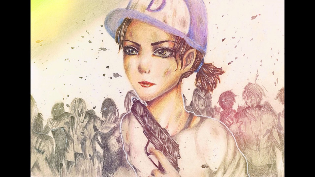 The Walking Dead Clementine Hall Of Fame Fan Art Only