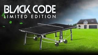 Видео о  Теннисный стол Cornilleau Sport Black Code