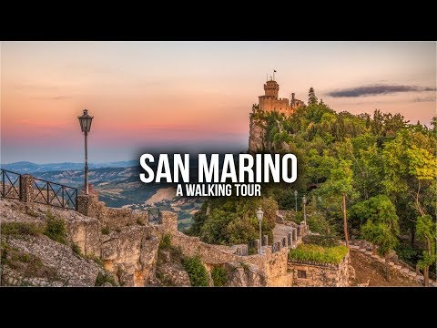 A walk through San Marino with facts about this tiny country