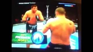 UFC Matt Mitrione vs Tim Hague.wmv