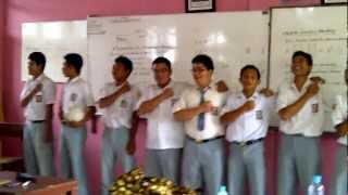 Timnas Singing National Anthem Song of Indonesia - Indonesia Raya (Parody) =D