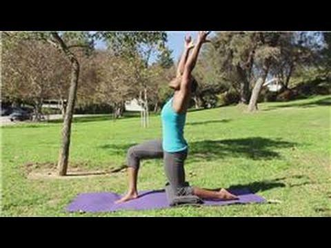 yoga exercises  what yoga poses stretch the hip flexors