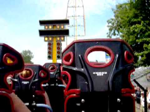 Top Thrill Dragster Rolls Back