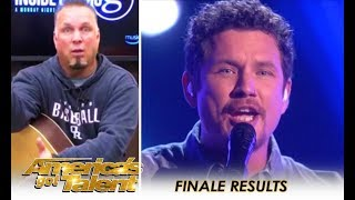 Garth Brooks ACCEPTS Simon Cowell's Challenge and It's EPIC! | America's Got Talent 2018