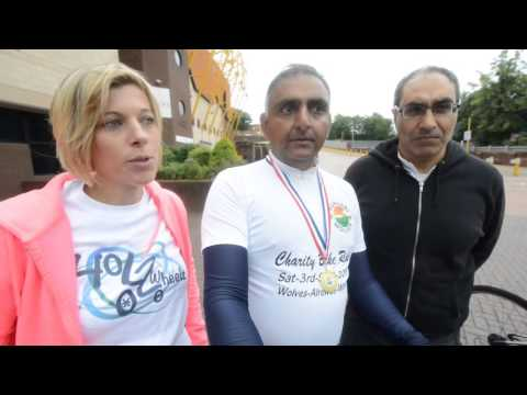 Punjabi Wolves charity cycle ride