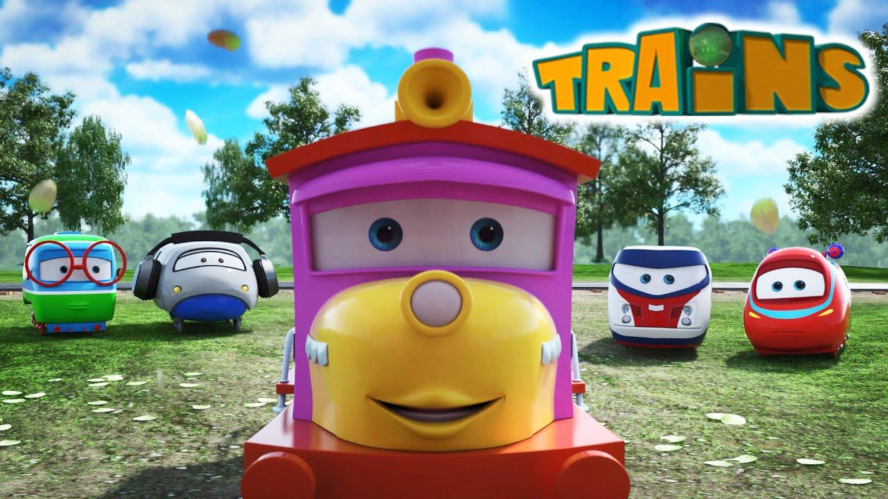 Videosammlung mit Loks Züge Trains - Animationsfilme für Kinder   N41