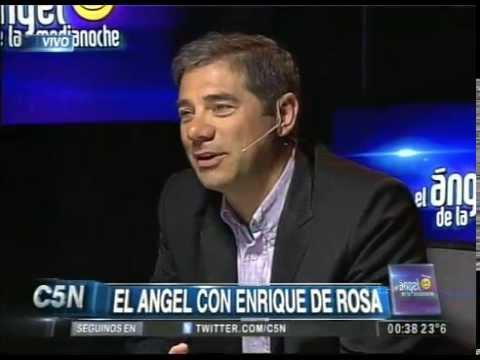 C5N - EL ANGEL DE LA MEDIANOCHE CON ENRIQUE DE ROSA