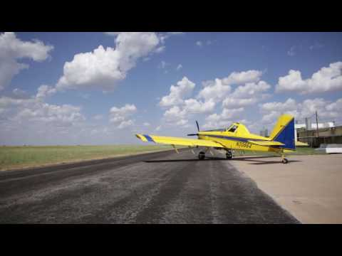 Ag Pilot Tells Us Why He Flies!