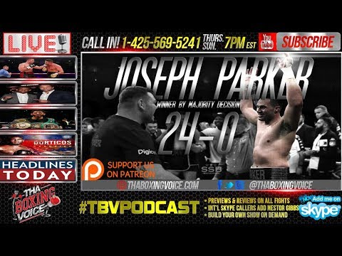 Did Joseph Parker Beat Hughie Fury? Daniel Jacobs Signs with Eddie Hearn & HBO