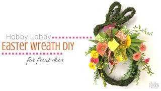 How to Make an Easter Wreath | Easter Bunny Wreath | Easter Wreath Craft