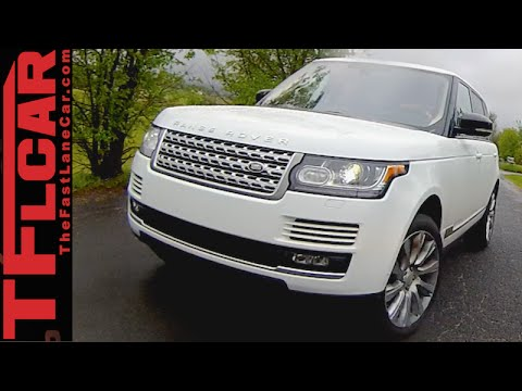 2015 Supercharged Range Rover: This Just In!