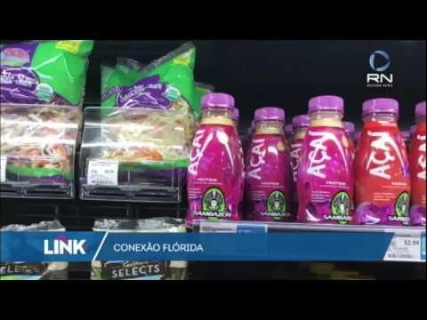 Conexão Flórida: empresa faz sucesso com venda de açaí nos EUA